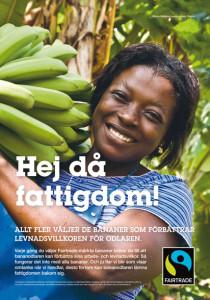 Fairtrade -Hej då fattigdom!