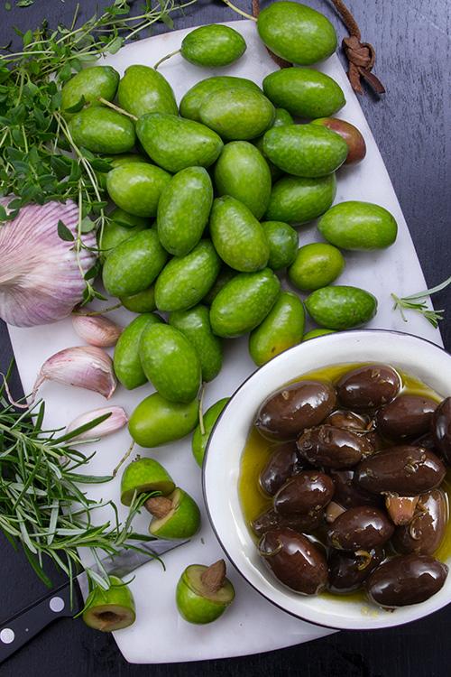 inlagda oliver recept