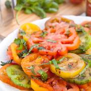marinerade-heirloom-tomater